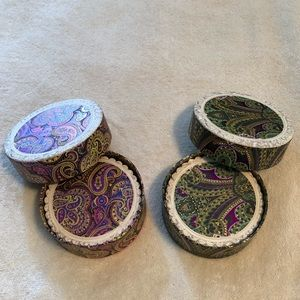 Foiled Paper Coasters